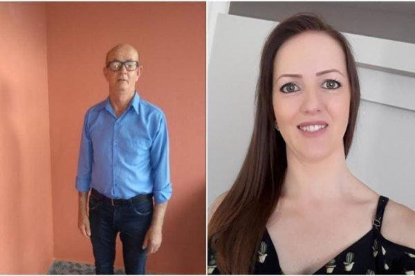 Rosângela Bridorolli, 38 anos, e Vitor Bridorolli, 67 anos, morreram de Covid-19