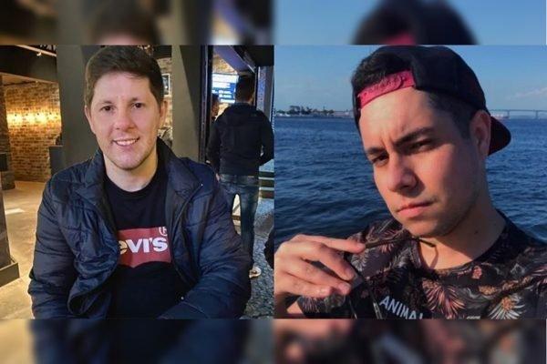 David Levisio, de 30 anos, e Marcos Vinício Bozzana da Fonseca, de 25