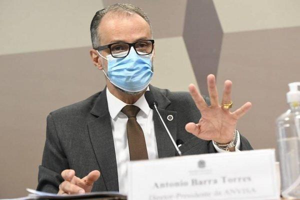 Antonio Barra Torres na CPI da Anvisa