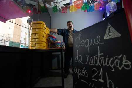 Erik Araujo, proprietário do La Buena Onda Fast