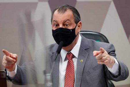 oitiva do ex-secretário das Comunicações Fabio Wajngarten e Osmar aziz