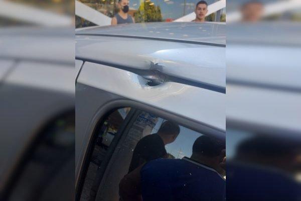 furo em carro