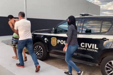homem é preso em taguatinga