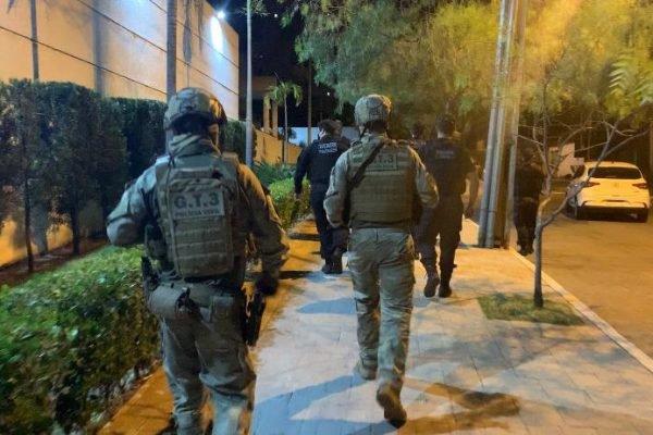 Operação contra esquema de extorsão em Goiás