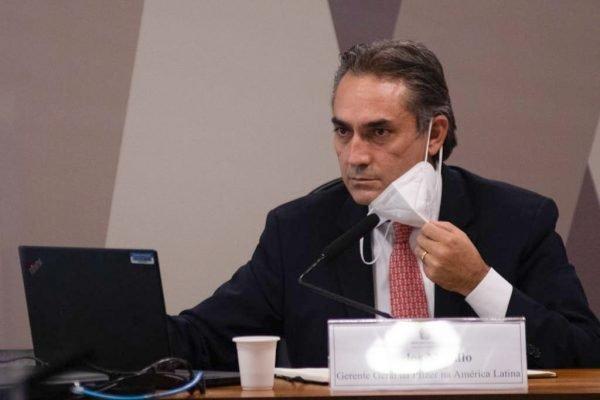 Depoimento do gerente-geral da Pfizer na América Latina, Carlos Murillo para a Comissão da Cpi da Covid 2