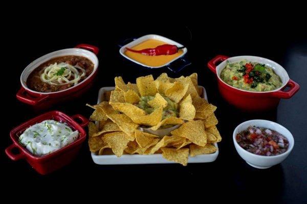 Pratos de comida mexicana