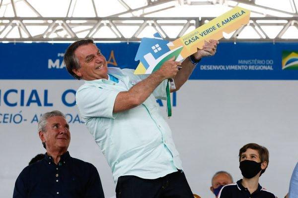 Bolsonaro em agenda em Alagoas