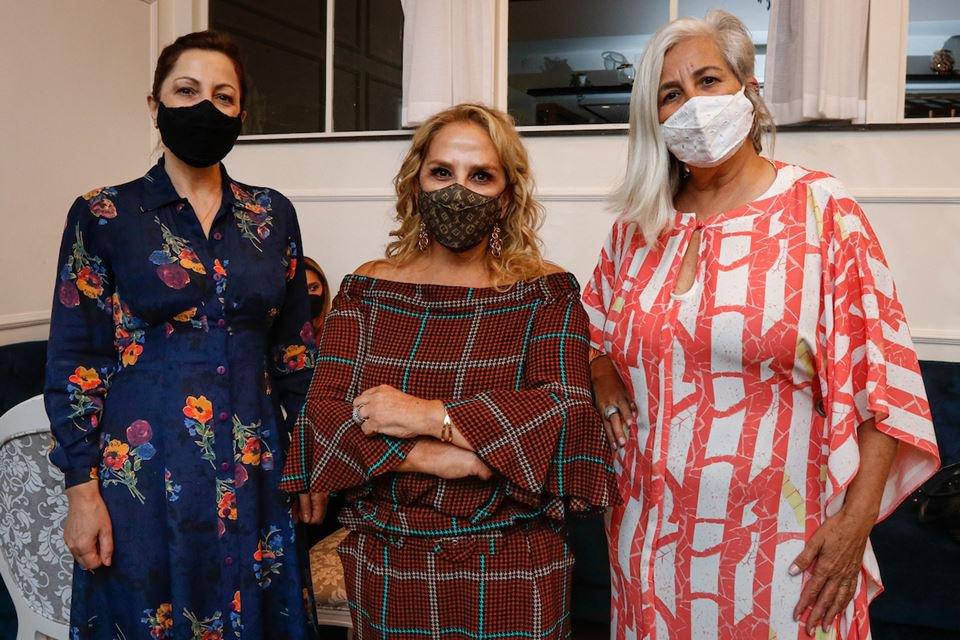Matilde Gemili, Elizabeth Cupertino e Sônia Cardoso