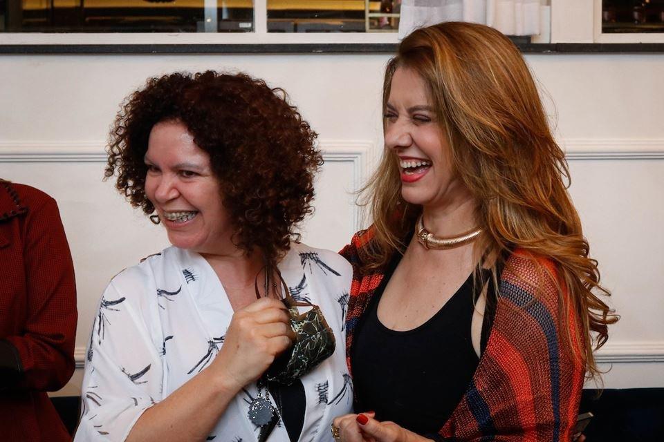 Cida Carvalho e Leninha Camargo