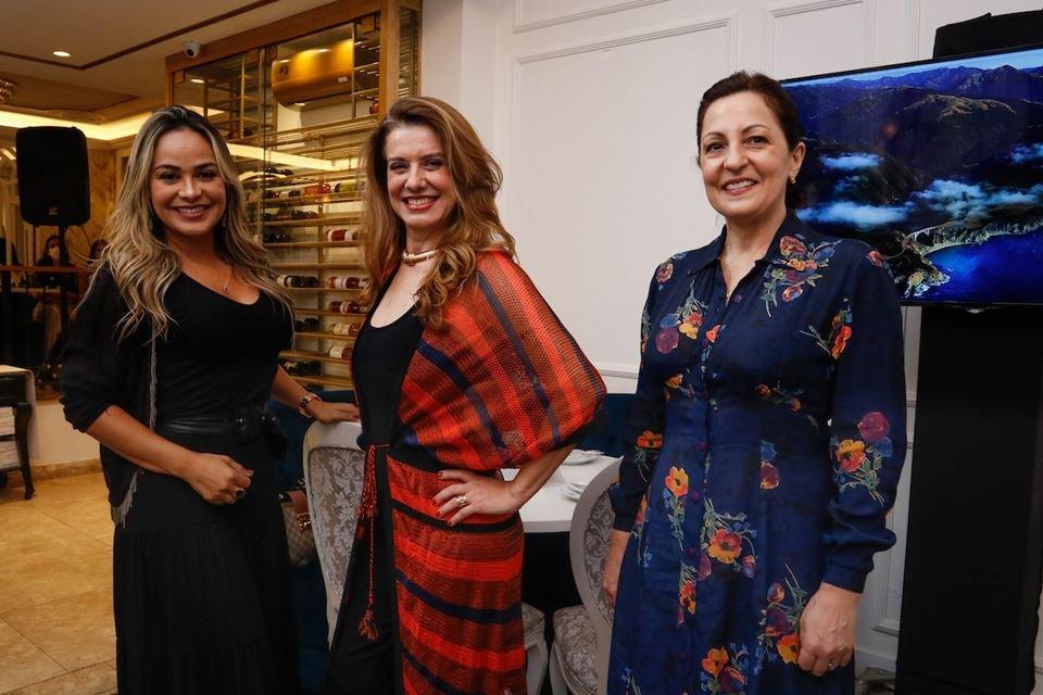 Fabiana Di Lucia, Leninha Camargo e Matilde Gemeli
