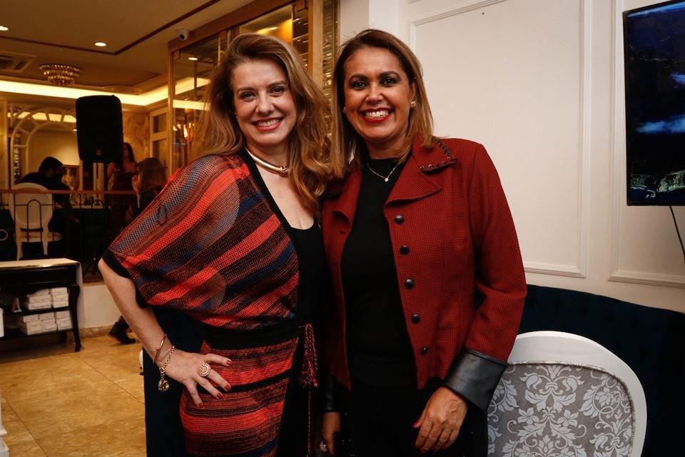 Chef Leninha Camargo e Vanessa von Glehn