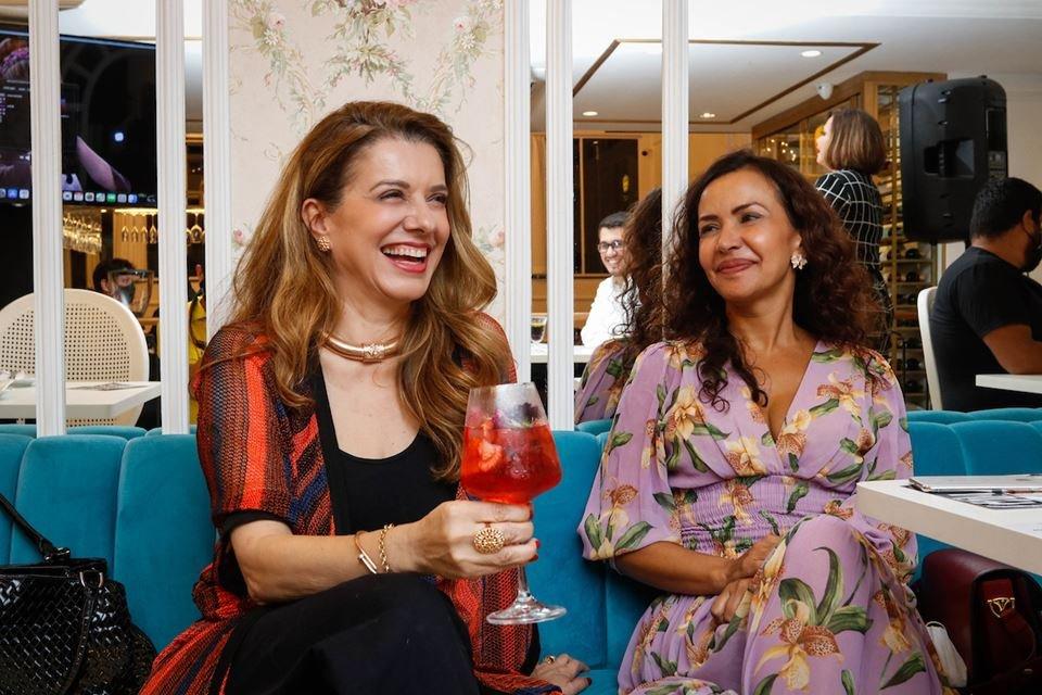 Chef Leninha Camargo e Claudia Meireles