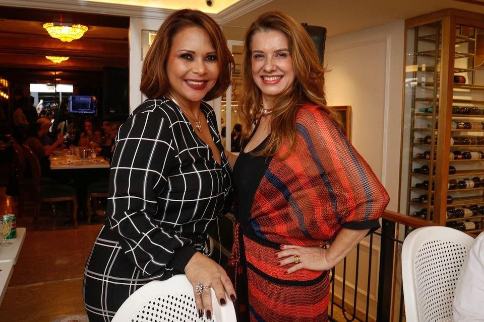 Luciana Santos e Leninha Camargo