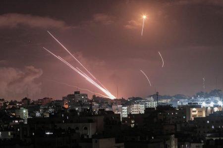 Domo de Ferro em funcionamento para evitar mísseis em Israel