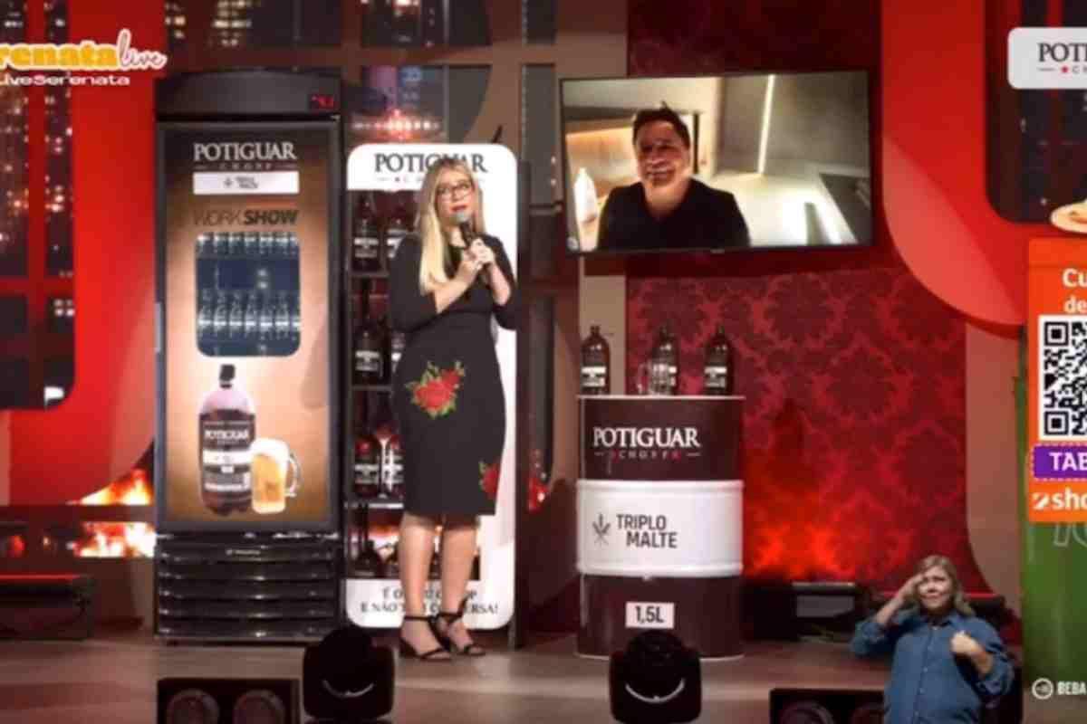 Sem nunca terem se visto, Leonardo convida Marilia Mendonça para live