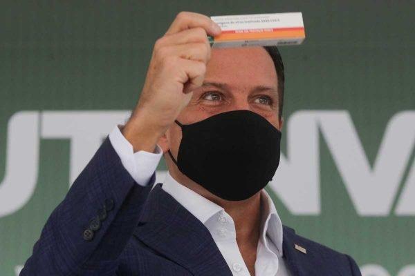 João Doria apresenta a vacina Butanvac em SP