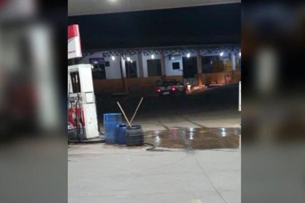 goias homem atropela morador de rua em posto de combustíveis