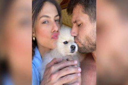 Mari Gonzalez, Jonas Sulzbach e cachorro