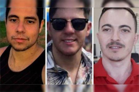 Robson Paim, David Júnior Alves Levisio, Marco Vinício Bozzana da Fonseca