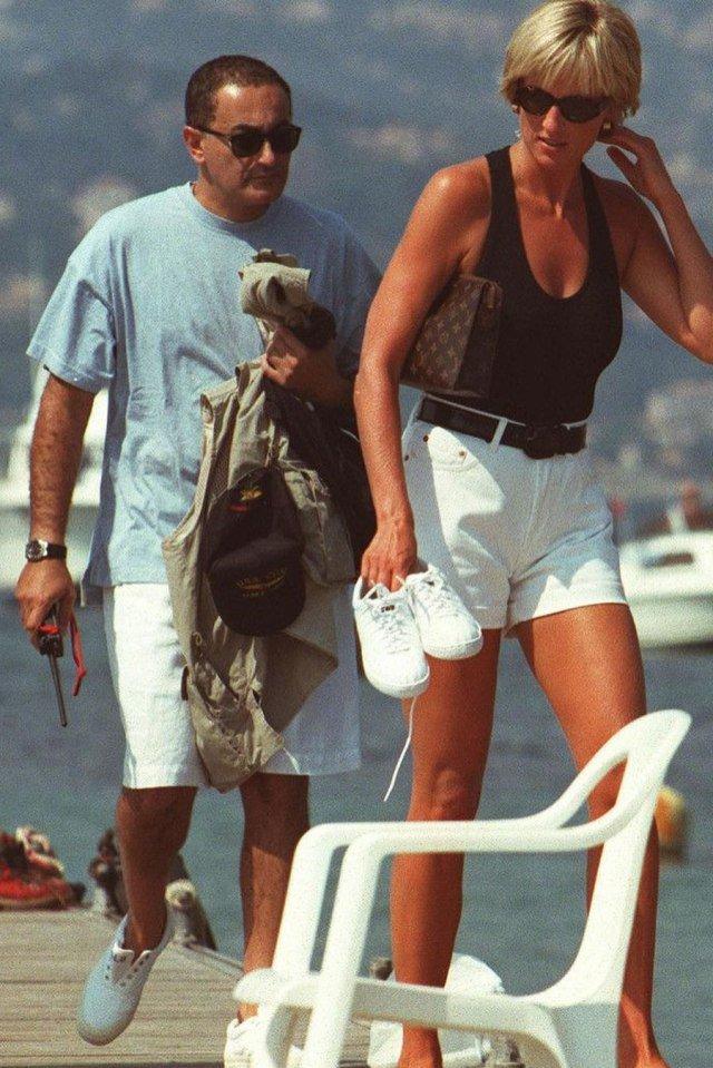 Dodi Al Fayed e Diana