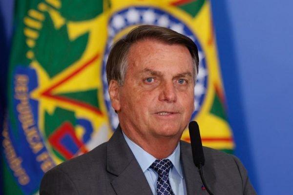 presidente jair bolsonaro durante evento no palacio