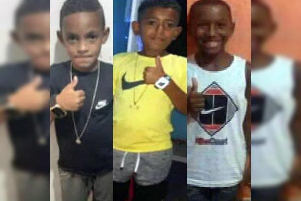 Três meninos desaparecidos em Belford Roxo