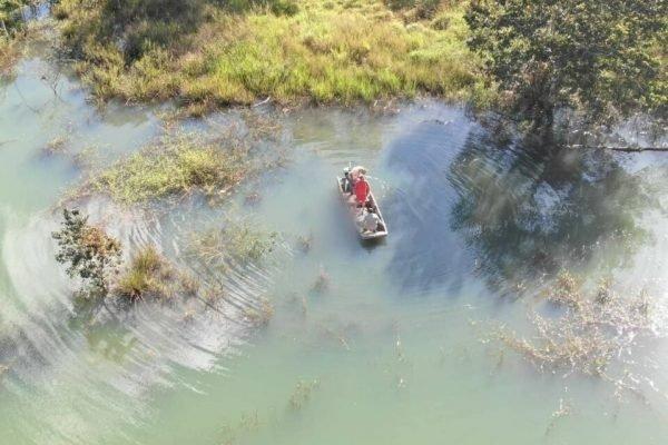 goias pescador se afoga no lago corumba