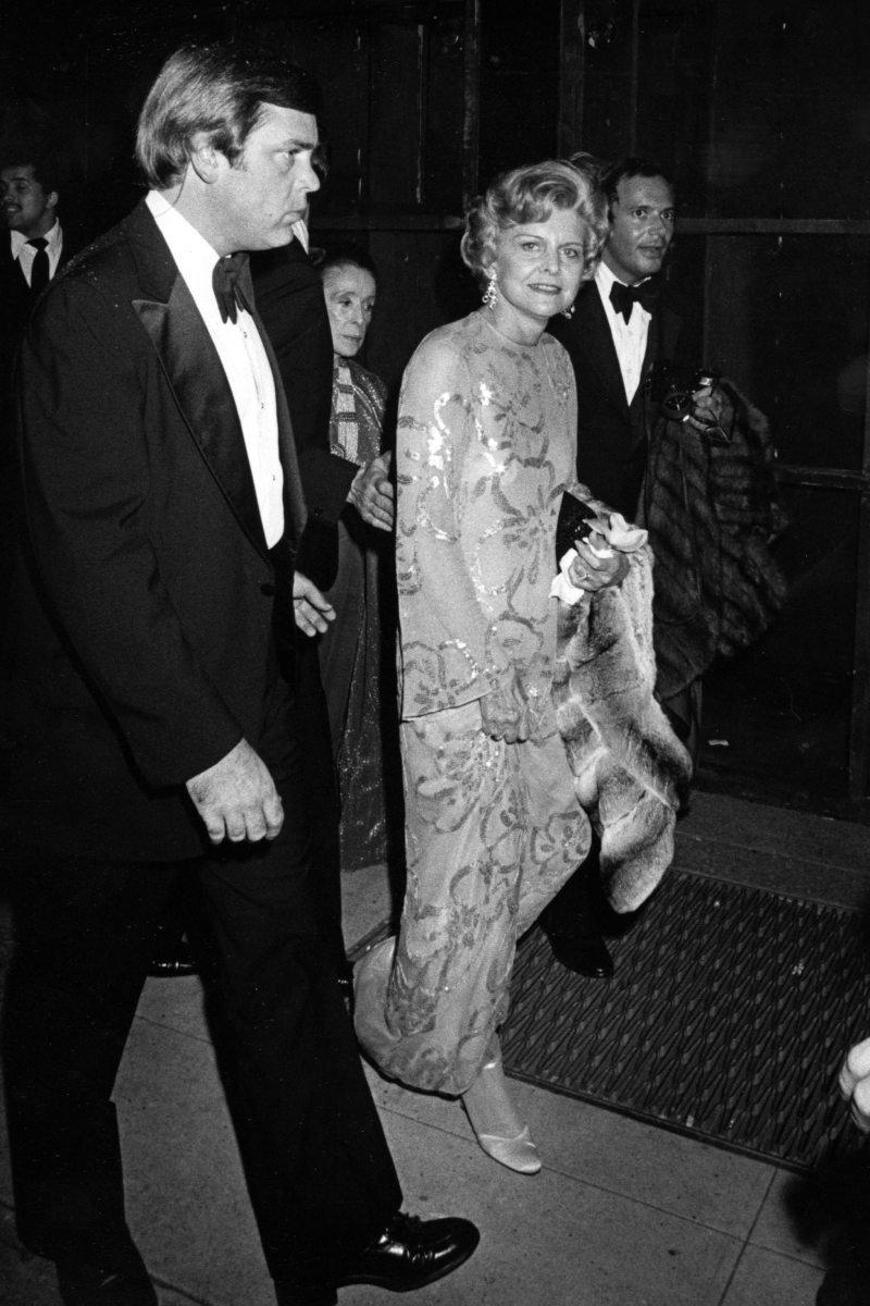 Betty Ford e Martha Graham no Studio 54, em Nova York