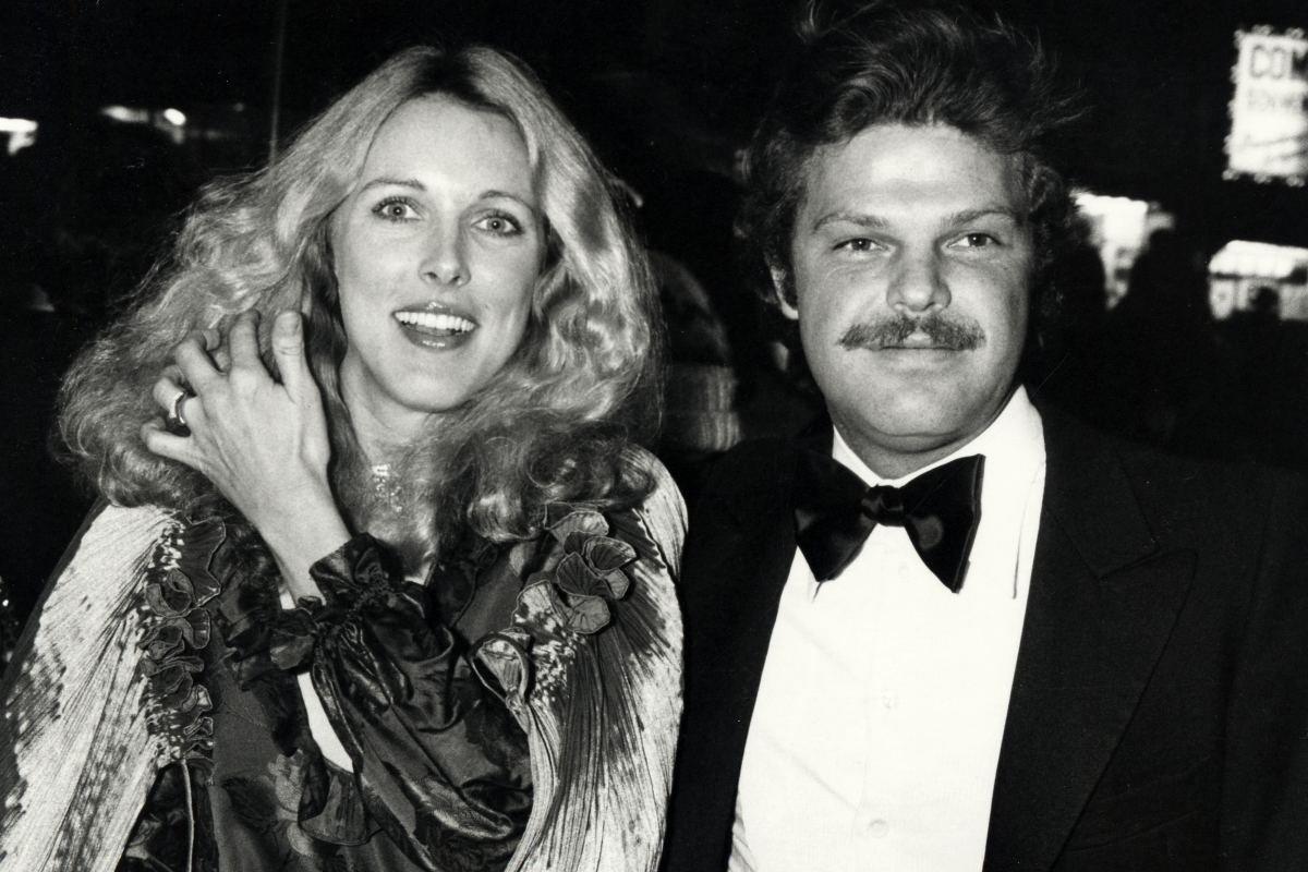 Alana Hamilton Stewart e Egon Von Furstenberg em uma festa no Studio 54