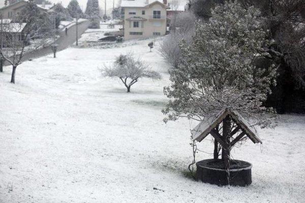 Neve em São Joaquim, Santa Catarina em 2013