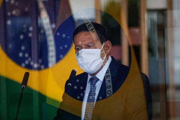 vice presidente Mourão no itamaraty 1