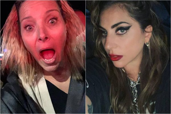 Lisa Kudrow e Lady Gaga