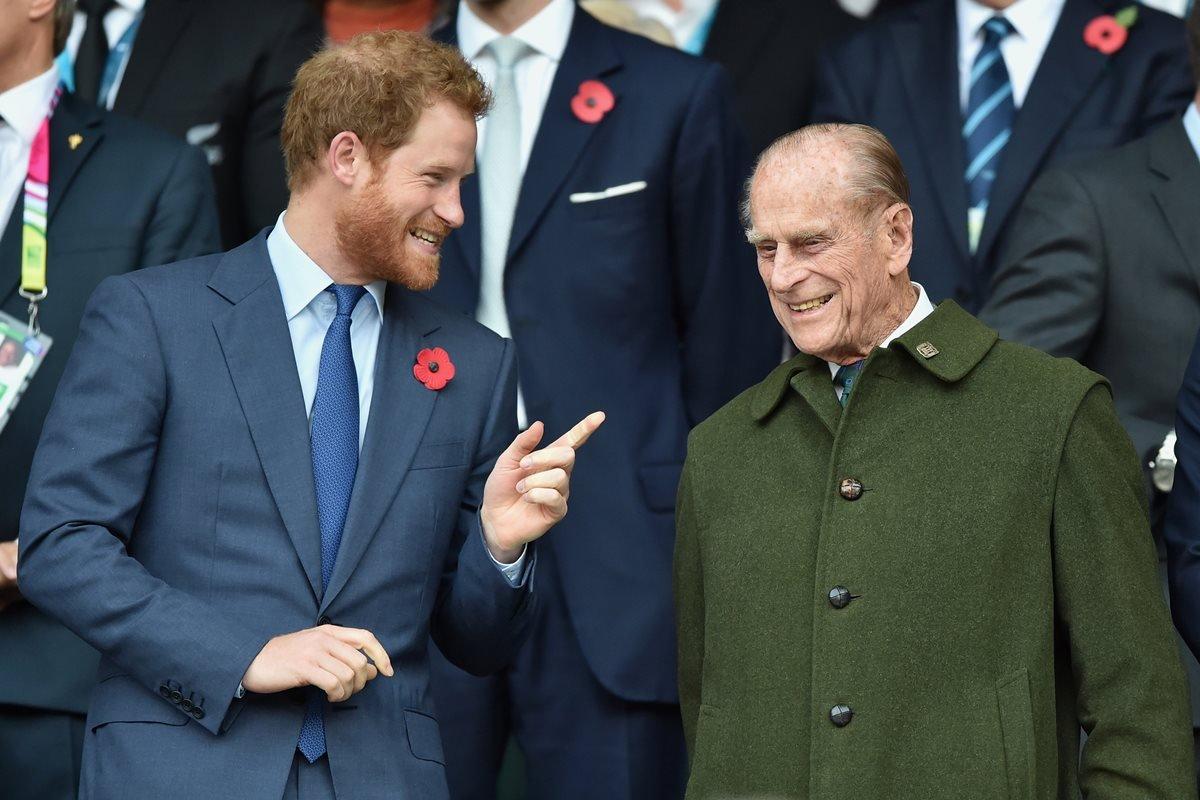 Príncipe Harry e Philip