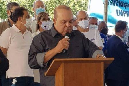 Ibaneis Rocha inaugura hospital acoplado de Samambaia