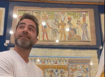 Médico Victor Sorrentino, preso nesse domingo (30/5) no Egito acusado de assediar uma mulher