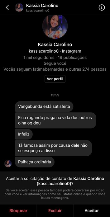 Luisa Sonza recebe ataque de ódio