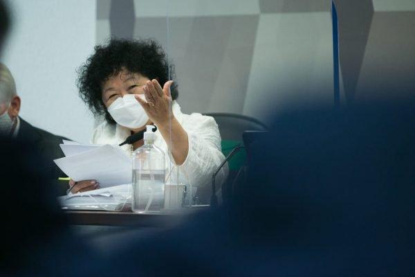 a médica Nise Yamaguchi em depoimento a cpi covid 19 cloroquina governo bolsonaro