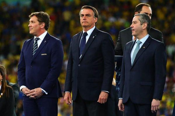 "Conmebol agradece Bolsonaro por ""eficiência"" e promete Copa segura"