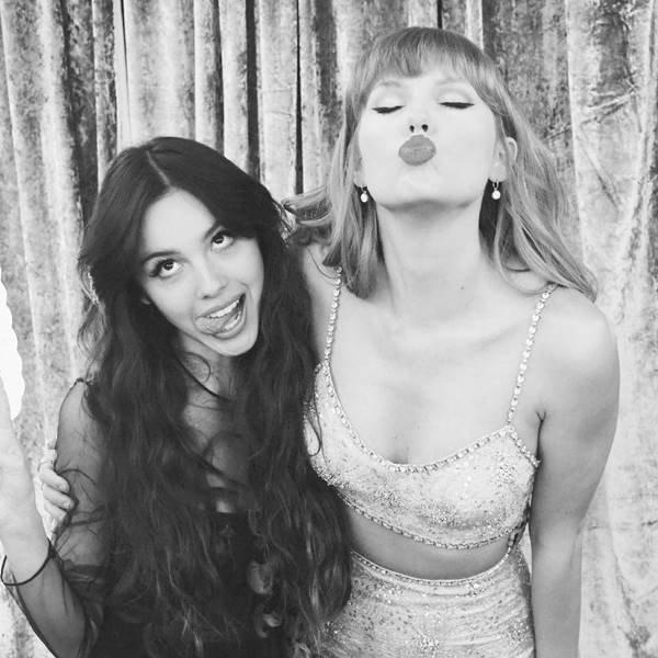 Olivia Rodrigo e Taylor Swift pós Brit Awards 2021