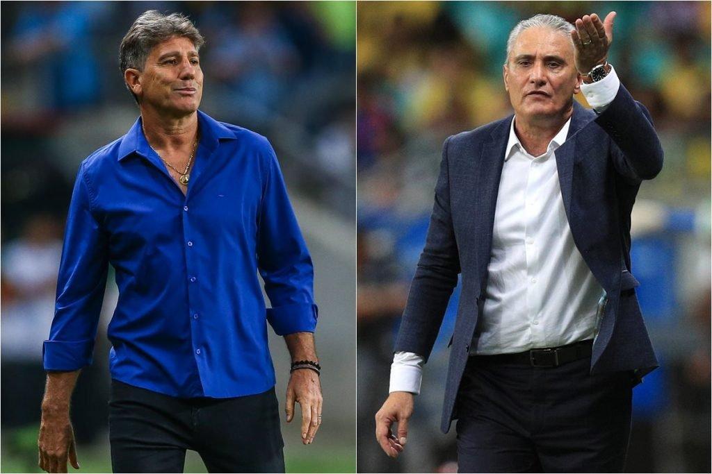 Renato Gaúcho e Tite