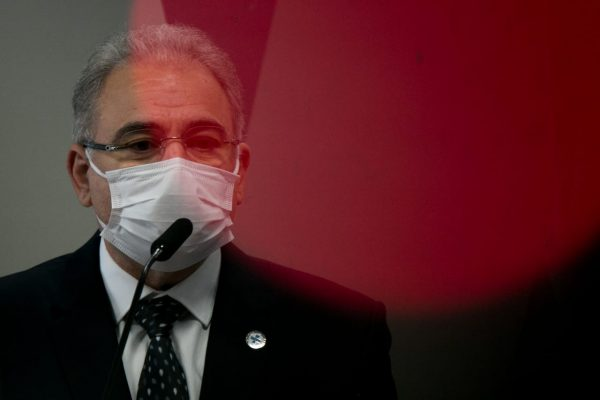 Marcelo Queiroga_ministro da Saúde_CPI da Covid
