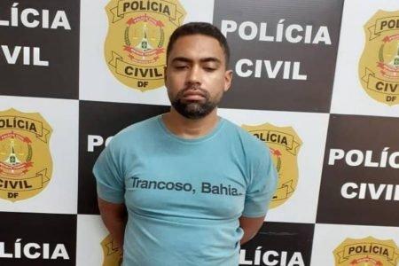 PCDF divulga prisão de estelionatário