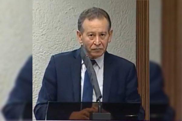 Deputado estadual Professor Lemos (PT)