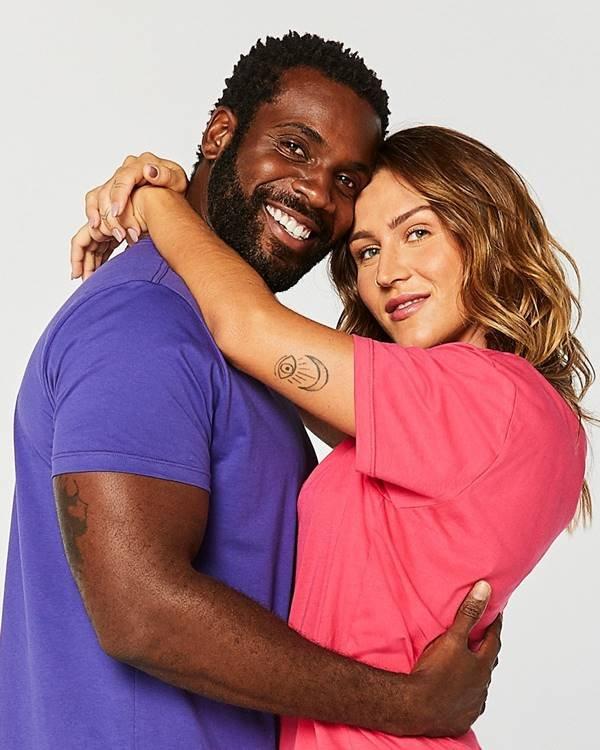 Rafael Zulu e Aline Becker na campanha de Dia dos Namorados 2021 da Reserva