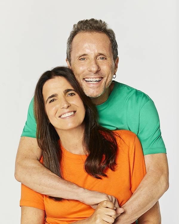 Tony Bellotto e Malu Mader na campanha de Dia dos Namorados 2021 da Reserva