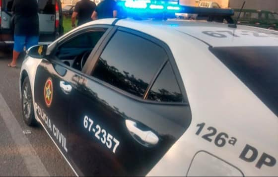 Viatura da Polícia Civil do Rio de Janeiro