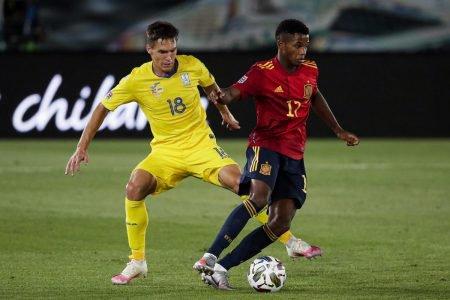 Espanha x Ucrânia Nations League