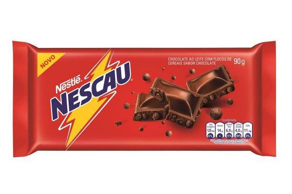 Barra de chocolate Nescau