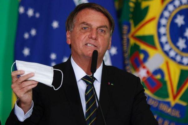 Presidente Jair Bolsonaro , durante apresentação das ações para desburocratização e atração de investimentos para setor de turismo 2