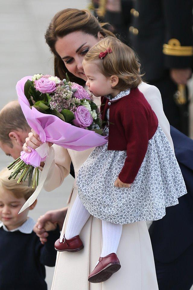 Kate Middleton e princesa Charlotte